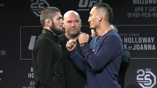 UFC 223: Pre-fight Press Conference Faceoffs