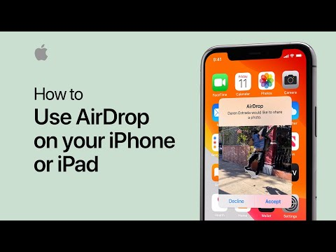 How To Use AirDrop On Your IPhone, IPad, Or IPod Touch — Apple Support