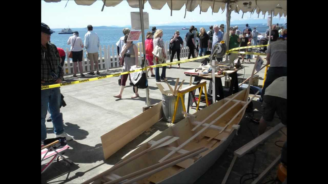 Quick and Dirty Boat Building Competition 2012 - YouTube