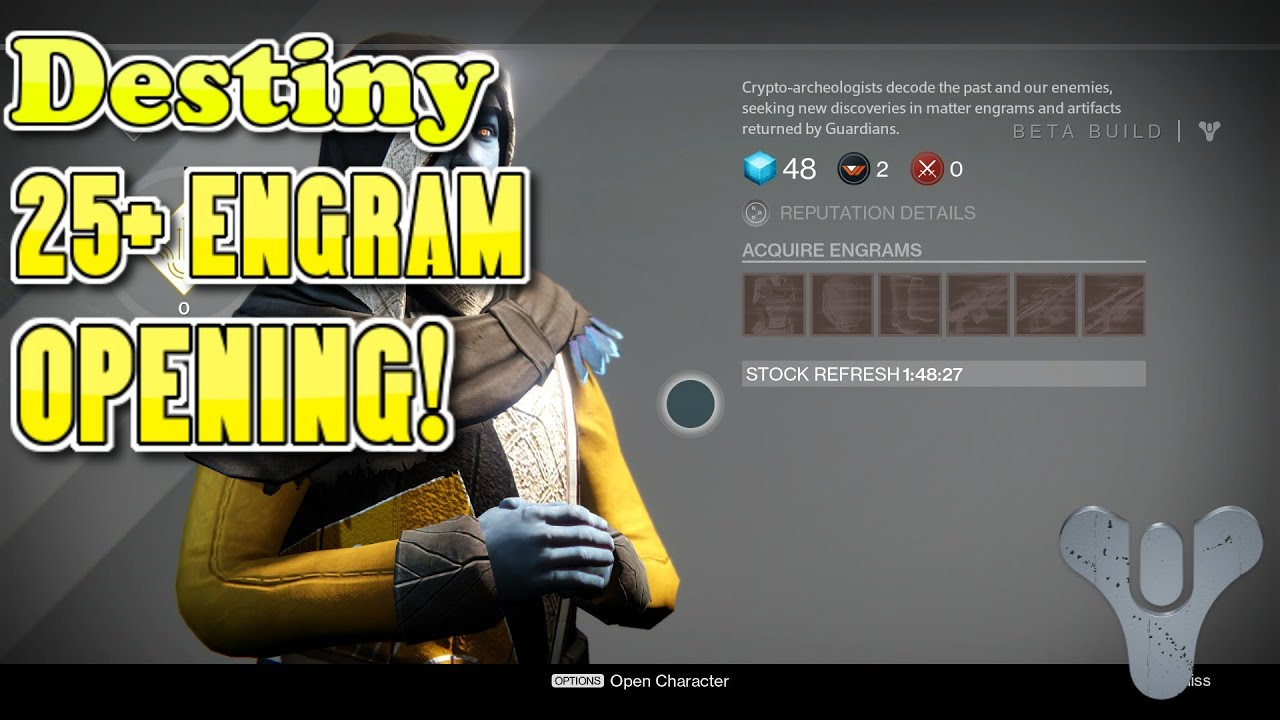 If Armour Engrams can decrypt into Artifacts then ...
