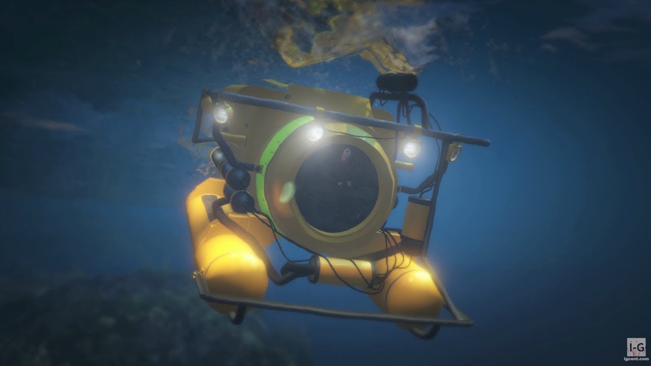 Download Helicopter and Submarine Mission - The Merryweather Heist - GTA V