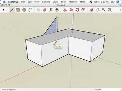 Sketchup Complex Hip Roofs And The Follow Me Tool Doovi