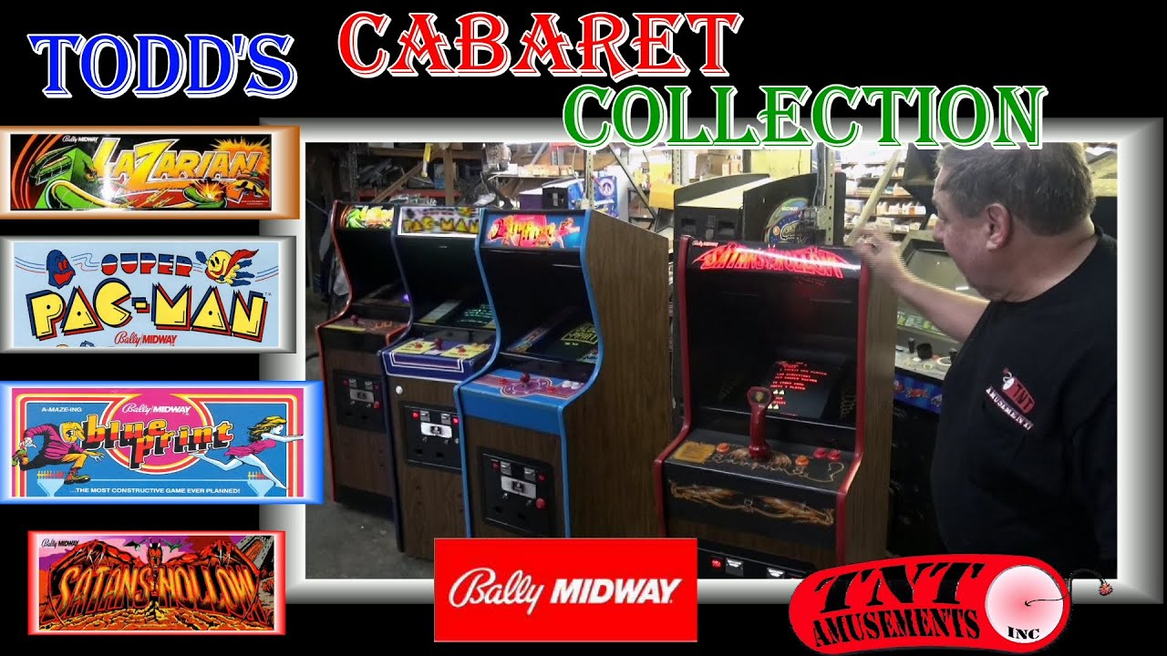 1178 bally midway lazarian super pacman satans hollow blueprint 1178 bally midway lazarian super pacman satans hollow blueprint arcade games tnt amusements youtube malvernweather Gallery