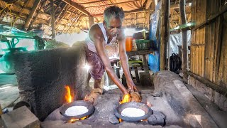 coconut-shell-jet-flame-indian-jungle-food-in-kozhikode-kerala-india
