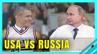 WORKOUT COMPETITION ► OBAMA vs PUTIN