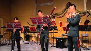 陸上自衛隊中央音楽隊教育科学生 ダブルリード(オーボエ・バスーン)によるアンサンブル G.Fヘンデル 水上の音楽