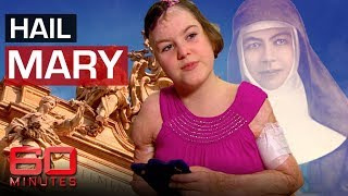 Sophie Delezio says Mary MacKillop saved her life - twice | 60 Minutes Australia