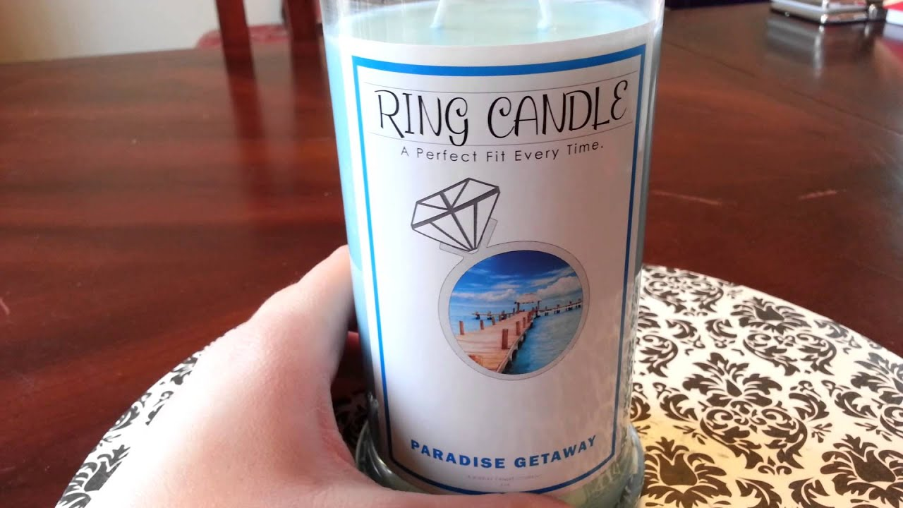 Jewelry Candles-Ring Candle Review! - YouTube