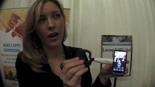 looxcie hands on wearable camcorder and bluetooth headset