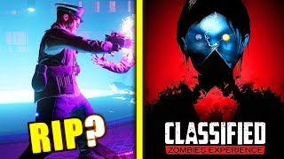 (New Findings) Classified Ending Cutscene NOT In Game? New Step Debunked - Black Ops 4 Zombies