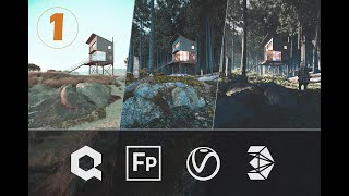 3ds Max + Forest Pack Video 1: Create Realistic 3d Environments (Course Overview) 1/4