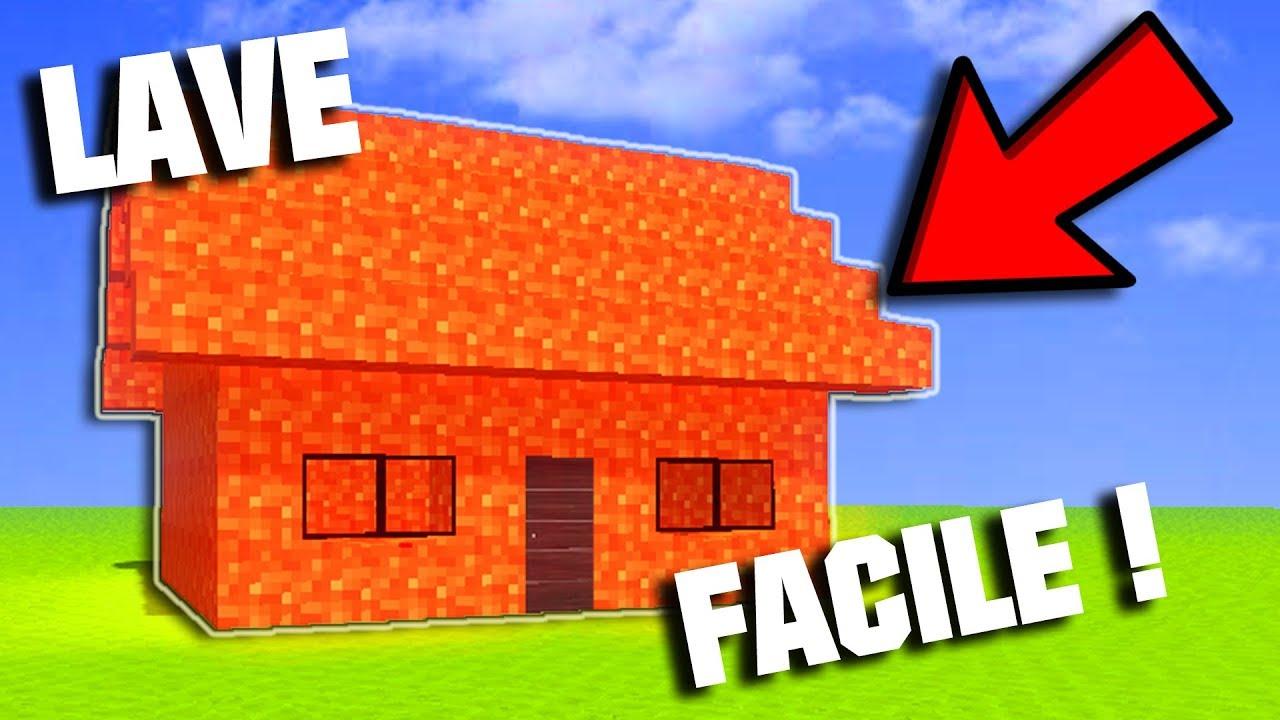 comment faire une maison en lave tuto maison en lave dans minecraft youtube. Black Bedroom Furniture Sets. Home Design Ideas