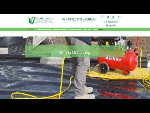 Radon Testing Monitoring Validation And Verification GeoShield Ltd GSR+ Program  CIRIA 735 Compliant