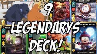 9 LEGENDARY CARDS DECK! - South Park Phone Destroyer