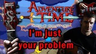 Adventure Time Tribute:  I'm Just Your Problem - Guitar and Voice arrangement - Happy Creative Stuff