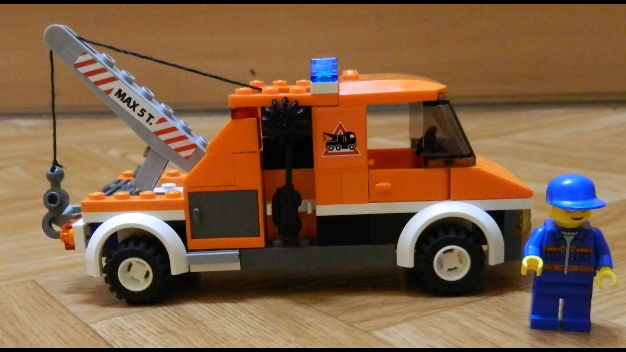 lego tow truck build