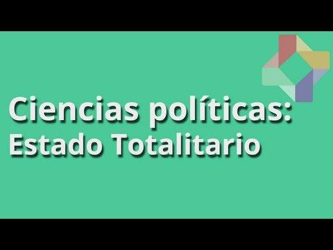 Estado Totalitario - Ciencias Políticas - Educatina