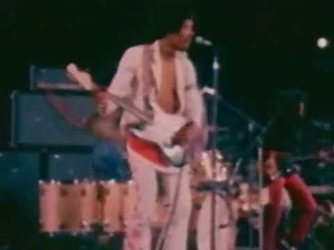 Jimi Hendrix 23-08-1968 Singer Bowl New York