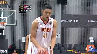 Full Game Highlight Sea Games Basket Putra Indonesia vs Kamboja 2017