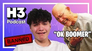 "Old People Angry O nas ""OK Boomer"" & FaZe Jarvis - H3 Podcast #156"