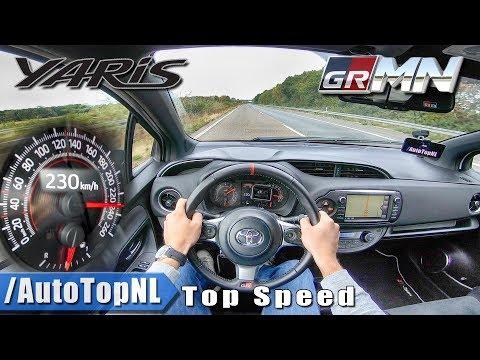 toyota-yaris-grmn-230km/h-top-speed---autobahn-pov-by-autotopnl