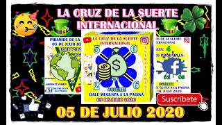 Cruz!! 05 de Julio 2020 - la cruz de la suerte