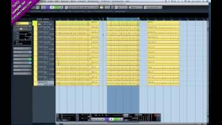 Tutoriel Cubase 5, 6 & 7 - Editer et recaler (batterie ou autre) plusieurs pistes facilement