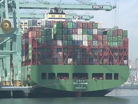 West Coast Ports Cut Shifts Amid Labor Dispute