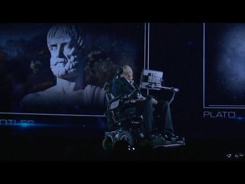 Stephen Hawking appears as hologram in Hong Kong, addresses audiences on Trump and Brexit