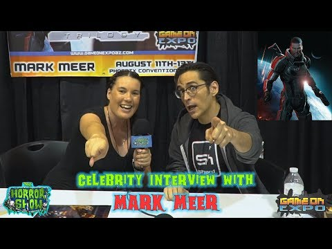 "Celebrity Interview with MARK MEER (Shepard from the ""Mass Effect"" Trilogy) - The Horror Show"
