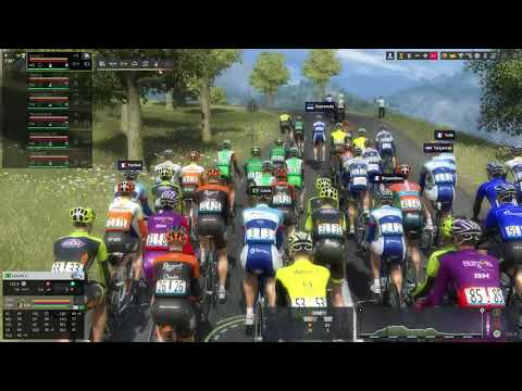 Gameplay Pro Cycling Manager 2019  