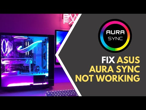 How to Fix Asus Aura Sync Not Working Fast (2019 Ultimate