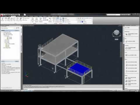 autodesk plant design suite 2014 projeto estrutural youtube. Black Bedroom Furniture Sets. Home Design Ideas