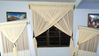 Cortinas cruzadas | Costura HOME
