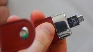 The MECO USB 3.0 Flash Drive with OTG Support