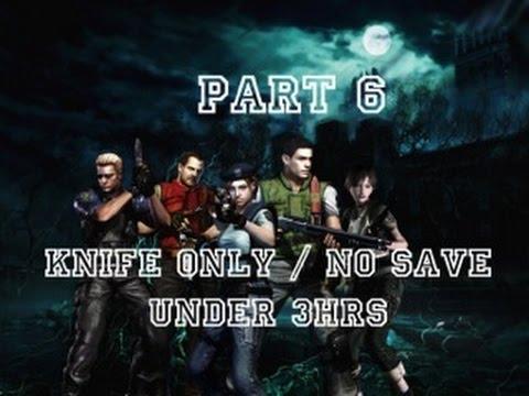 Resident evil remastered 6 plant 42 boss knife only for Plante 42 chris