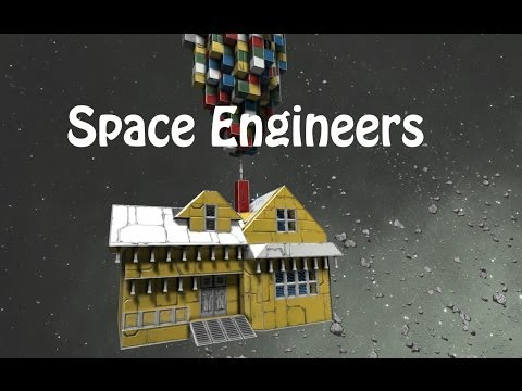 Things to do in Space Engineers - Building Box Ships