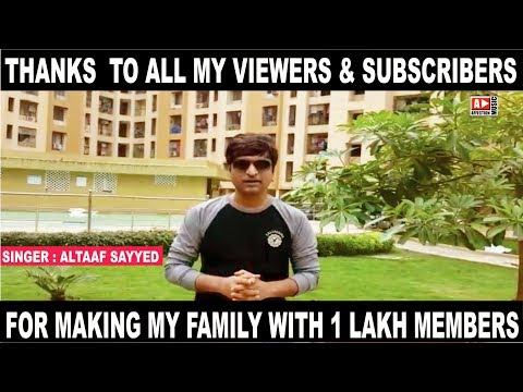 THANKS TO ALL : ALTAAF SAYYED & CHANDRA SURYA   AFFECTION MUSIC RECORDS