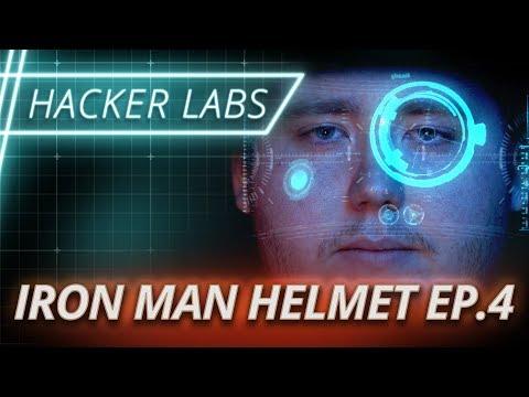 Hacker Labs: Iron Man Helmet Challenge Ep. 4 ft. the Hacksmith   Full Sail University