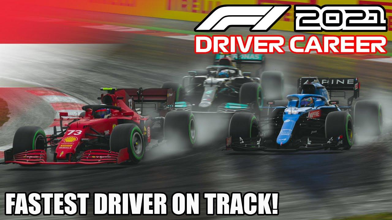 F1 2021 Ferrari Driver Career #14: Fastest Driver on Track!