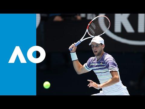 Gael Monfils Vs Dominic Thiem - Match Highlights (4R) | Australian Open 2020