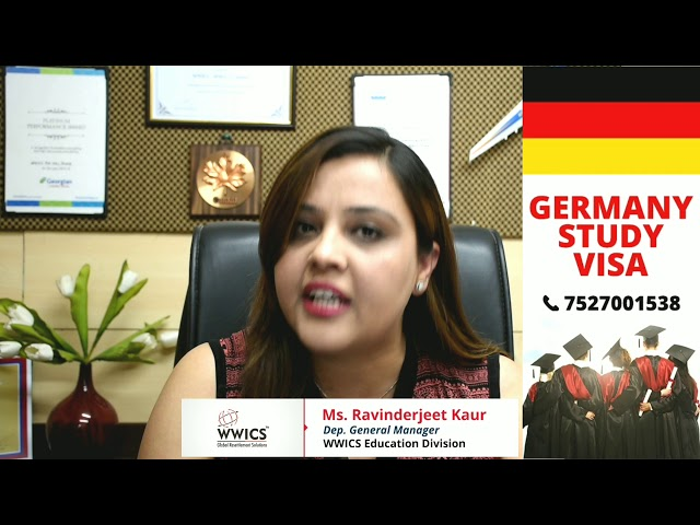 GERMANY Study Visa Update from WWICS