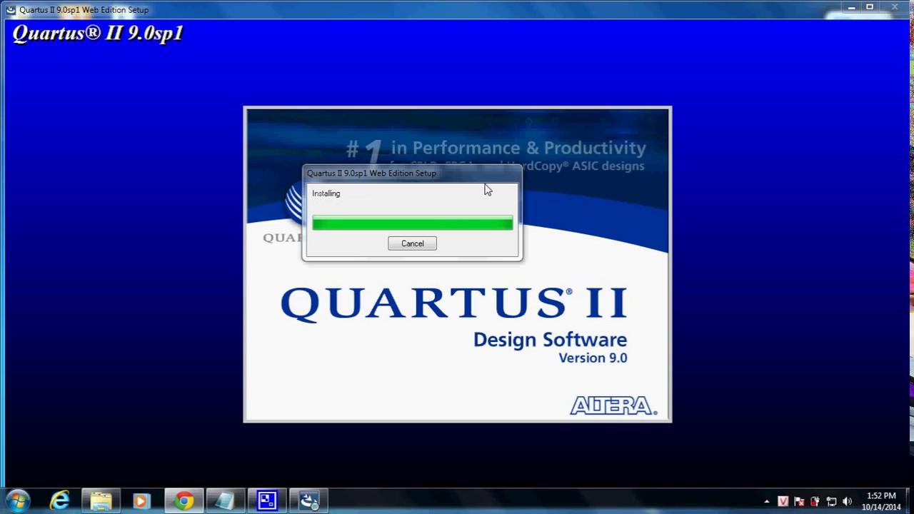 logiciel quartus gratuit
