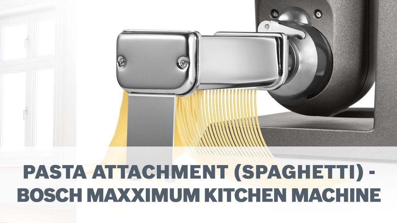 Bosch Maxximum Pasta Accessory Spaghetti Youtube