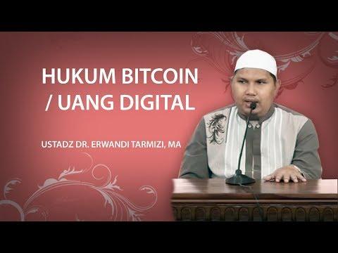 Hukum Bitcoin / Uang Digital - DR  Erwandi Tarmizi, MA