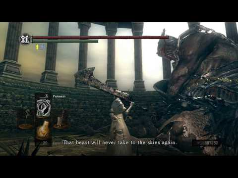 Dark Souls - Gough's Armor Set And Greatbow (LOCATION)