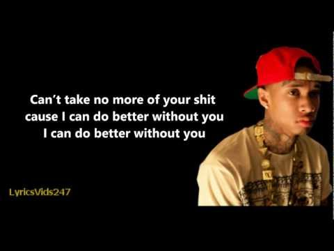 Diced Pineapples Lyrics - Tyga // HD