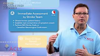 rapid algorithm review stroke by acls certification institute