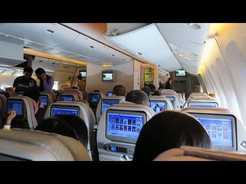 Boeing 777-300ER а/к Emirates | Рейс Дубай - Санкт-Петербург