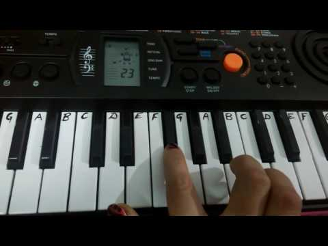 Lagawelu jab lipstick kamariya Lollipop Song on Keyboard Piano ~ Easy Tutorial/Notes